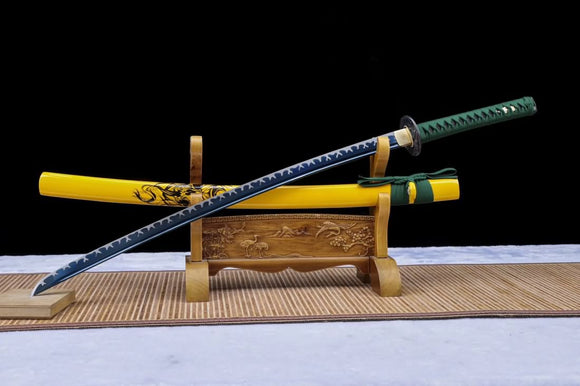 Samurai sword,Forged high carbon steel black blade - Chinese sword shop