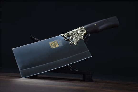 Chinese Cleaver 5Cr15Mov Steel Chef Kitchen Knives Home Cooking Slicing Tools PRO - Chinese sword shop