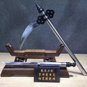 Sabrd,Sickle,High carbon steel blade,Hand Forged - Chinese sword shop