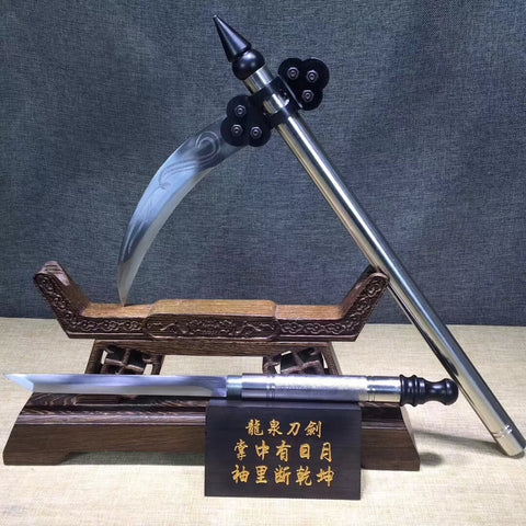 Loong sword,Sickle,High carbon steel blade,Hand Forged