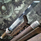 Dagger,short swords,High carbon steel blade,Rosewood scabbard - Chinese sword shop
