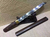 Katana,Tanto,High carbon steel burn blade,Rosewood,Full tang - Chinese sword shop