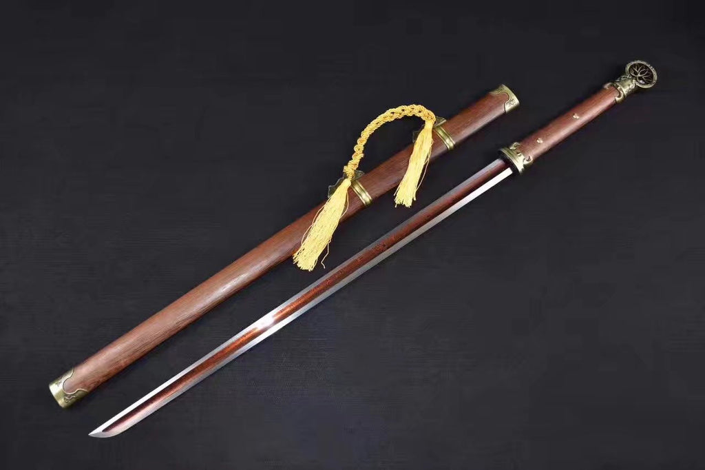 Chinese Swords Peidong Sword Folding Steel Rosewood