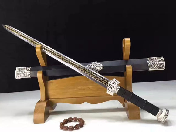 CHIBI sword,High carbon steel,Wood scabbard,Alloy fitting&Handmade art - Chinese sword shop