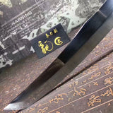 Pudao,Revolving knife,High speed steel integrated structure,Leather scabbard - Chinese sword shop