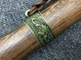 Longquan sword,High carbon steel etch blade,Rosewood,Alloy fittings - Chinese sword shop