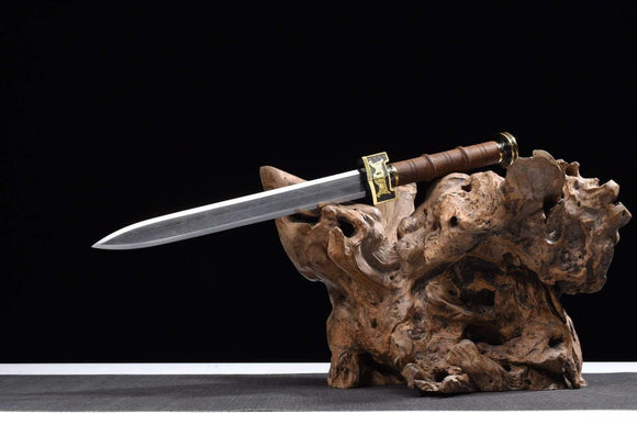 Ruyi dagger sword,High carbon steel etch blade,Alloy fittings - Chinese sword shop
