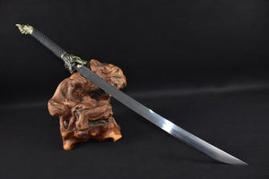 Dragon machete,Handmade(High carbon steel blade)Full tang - Chinese sword shop