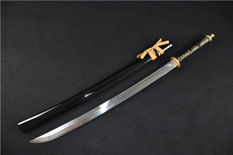Broadsword dao,Handmade(High carbon steel blade,Alloy fittings)Sharp&handmade art - Chinese sword shop