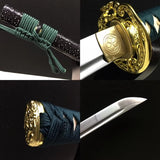 Katana sword,Hand forged(High carbon steel blade)Full tang,Sharp - Chinese sword shop
