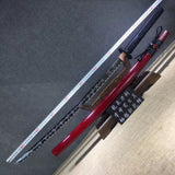 Katana,High carbon steel etch blade,Solid wood,Alloy,Full tang - Chinese sword shop