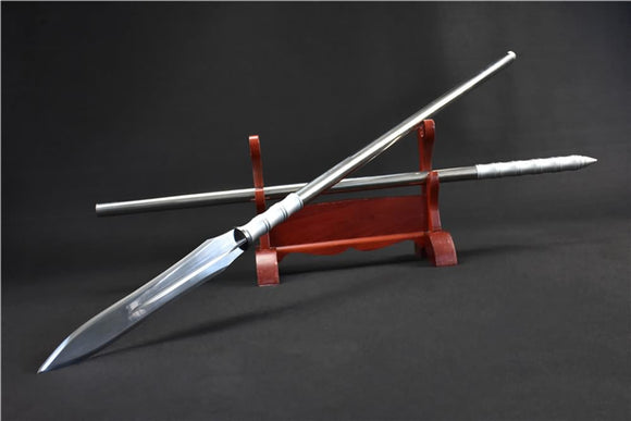 Lance,Spear,High carbon steel blade,China kung fu - Chinese sword shop
