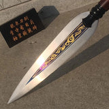 Tongtian spear,High manganese steel Spearhead,stainless steel rod
