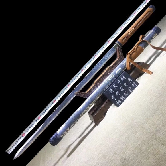 Tang jian,Handmade art,Stainless steel blade,Alloy scabbard - Chinese sword shop