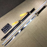 Tang jian sword,Handmade(High carbon steel,Brass fittings)Full tang - Chinese sword shop