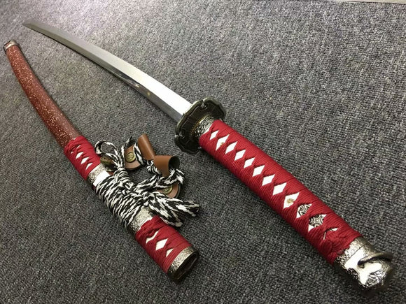 Nihontou Tachi,Nodachi,High carbon steel burn blade,Alloy tosogu - Chinese sword shop