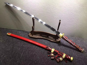Nihontou,tachi sword,Forged high carbon steel turn blade
