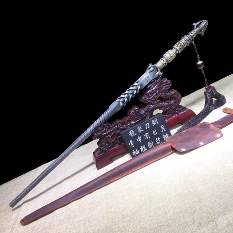Cold weapon in ancient China,Dragon mace,Damascus steel
