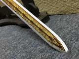 Yuewang sword,High carbon steel etch blade,Redwood,Alloy - Chinese sword shop