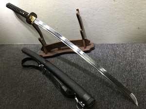 Nihontou katana,High carbon steel burn blade,Ski scabbard,Alloy tosog - Chinese sword shop