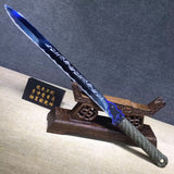 Tang jian,High carbon steel,Full tang,Chinese sword