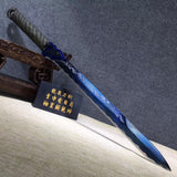 Tang jian,High carbon steel,Leather scabbard,Full tang,Chinese sword - Chinese sword shop