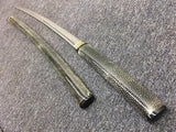 Samurai sword,High carbon steel burn blade,Skin saya - Chinese sword shop