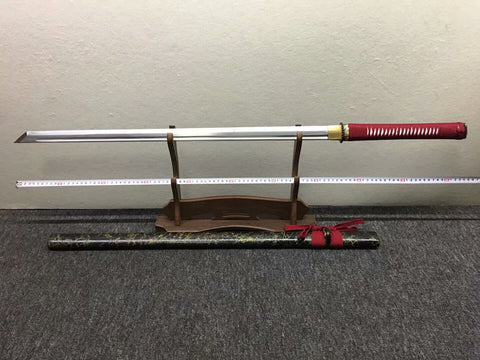 Ninja sword,High manganese steel blade,Solid wood,Hand forged