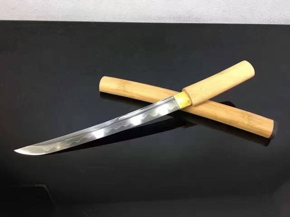 Tanto,High carbon steel burn blade,Full tang,Length 20 inch - Chinese sword shop