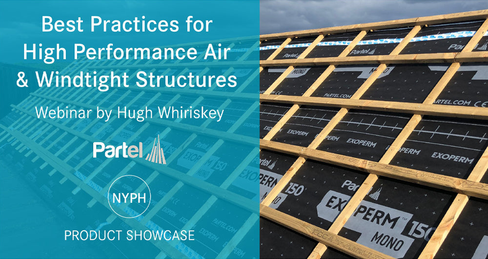 Partel partners with New York Passive House-NYPH offering a new webinar