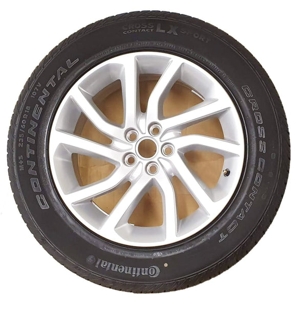 Genuine Land Rover Discovery Sport 18 Style 511 5 split spoke Silver Alloys