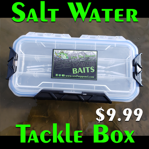 Salt-Water Live the Dream Tackle Box Small