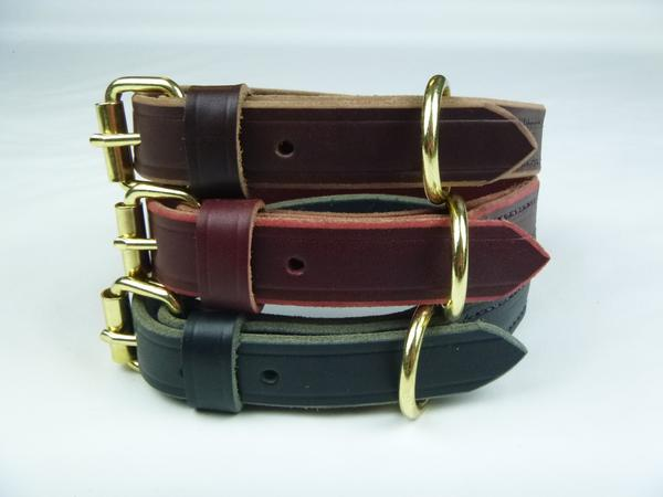 "Imperfect 1"" Standard Leather Collar"