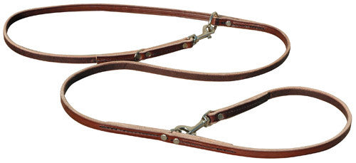 7' Leather Multi-purpose Leash