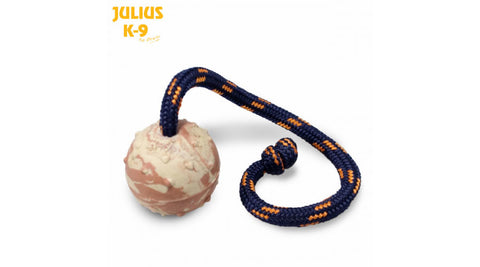 Julius-K9 Ball with String (Knot)