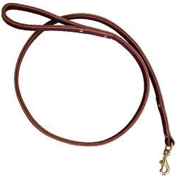 Double Layer Leather Leash