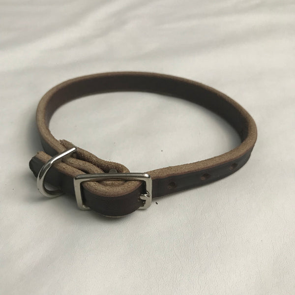 "1/2"" Leather Collar"