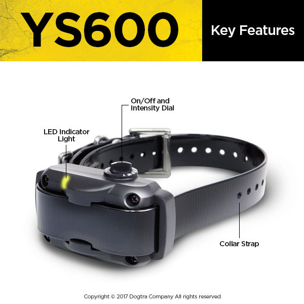 Dogtra YS600 No Bark Collar
