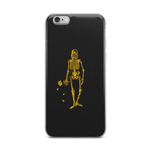 Skeleton Clique iPhone Case