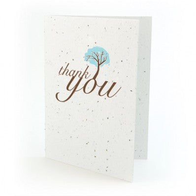 Botanical Paperworks Plantable Thank You Cards