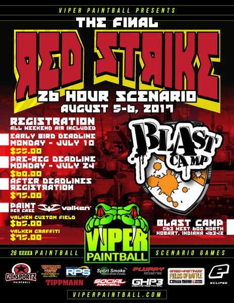 Blast Camp Red Strike 2017