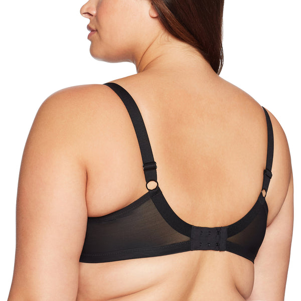 e8cd6db70318e Elomi Women s Plus Size Sachi Strappy Underwire Plunge Bra