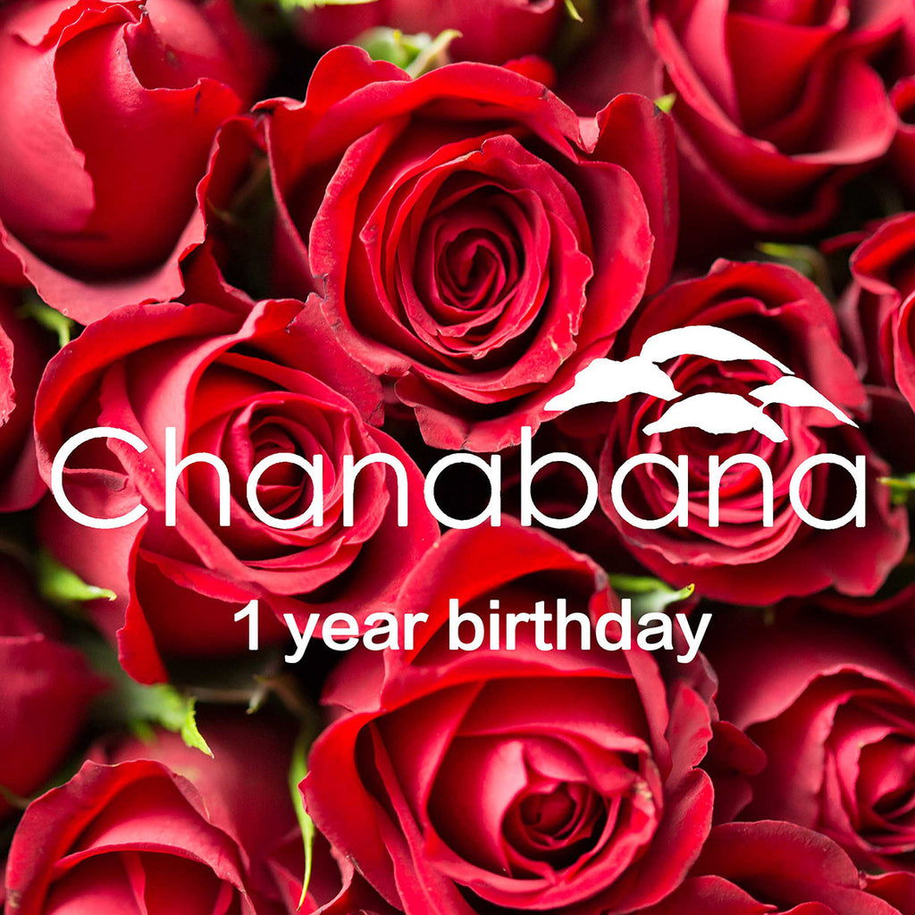 Chanabana 1 years old!