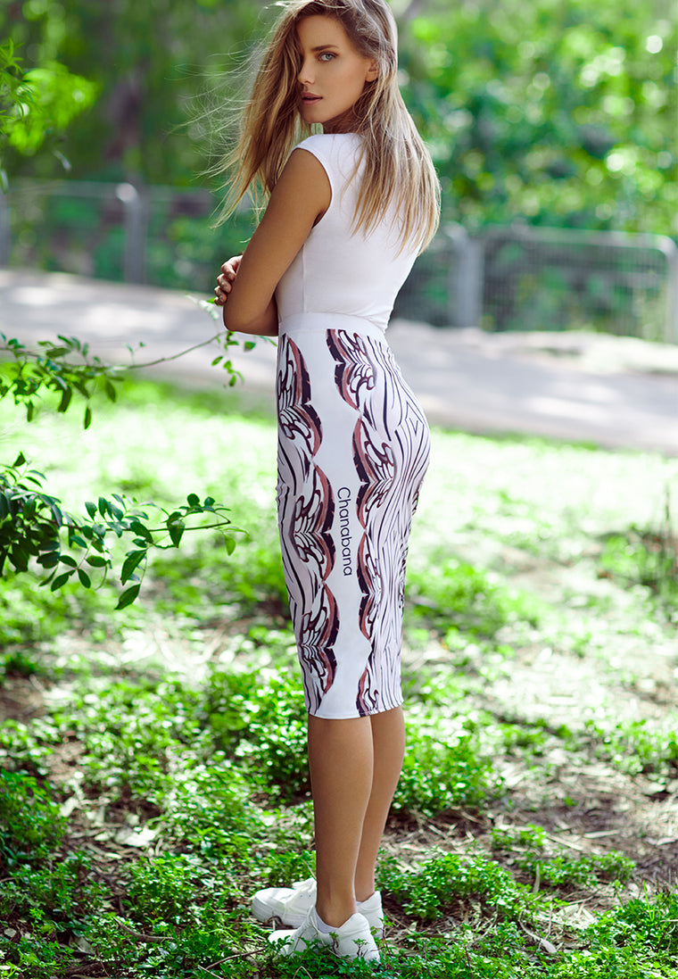 Swimsuit Skirt - Reflective Nature