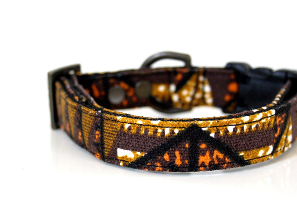canvas dog collar
