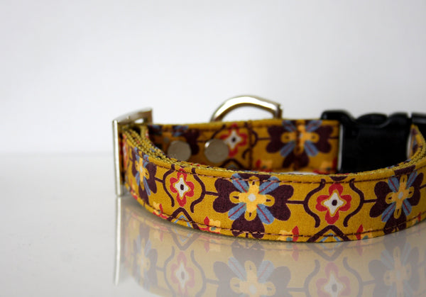 vintage inspired dog collars