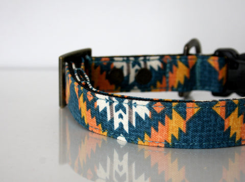 southwestern dog collars