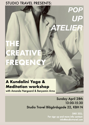 The creative frequency, pop up atelier