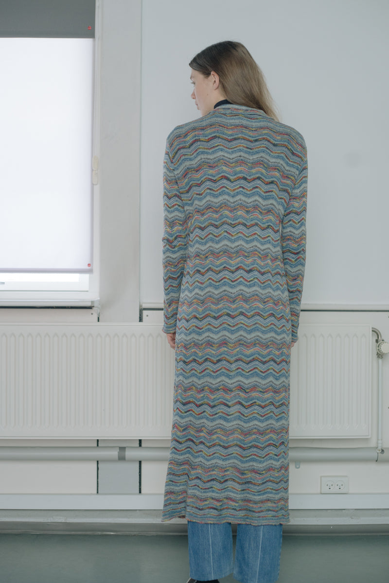 Missoni Striped Long Cardigan - Studio Travel