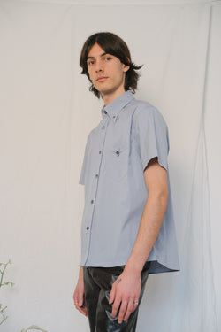 Prada Grey Cotton Shirt - Studio Travel
